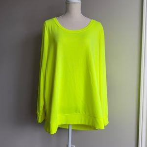 Torrid - Lattice Back Sweatshirt